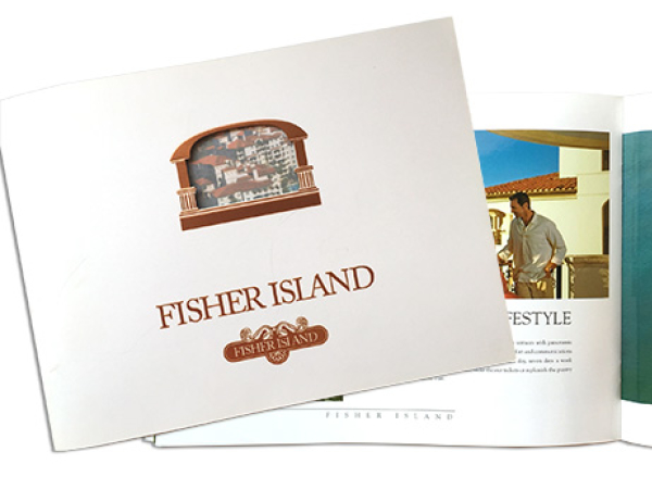 Fisher Island promotional brochure